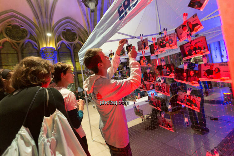 Erste Bank Vienna night run 2013, Fotowand