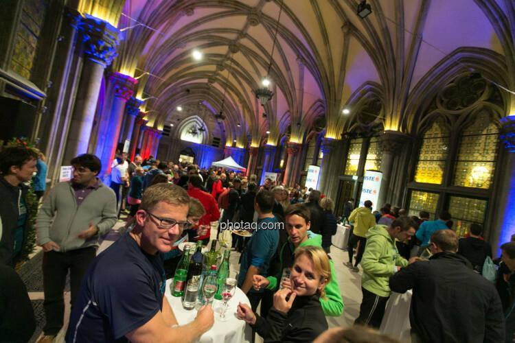 Erste Bank Vienna night run 2013, VIP Bereich, Rathaus