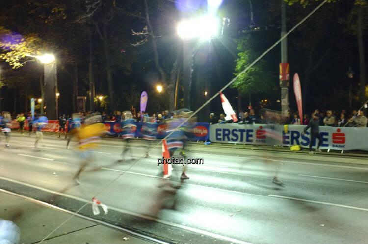 Erste Bank Vienna night run 2013, Läufer in motion