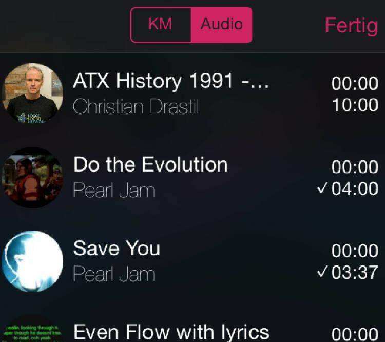Ein Schreibtischtest: 10:00 Runplugged-Zeit eingegeben und meine ATX-History mit Pearl Jam (habe ich am Handy) gemischt. Alle 10 Min wurde gewechselt und die Files spielen beim Wechsel immer dort weiter, wo zuletzt pausiert wurde. Wichtig: Ihr müsst nicht mixen und könnt natürlich auch zwei Musiklisten in Rotation schicken. Der Finanzcontent ist keinesfalls Pflicht ... Appdownload unter http://bit.ly/1lbuMA9