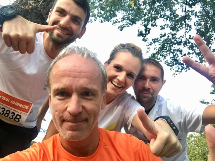 Yes vier : Ralph Zimmermann, Christian Drastil, Adina Zimmermann, Andreas Sorsky