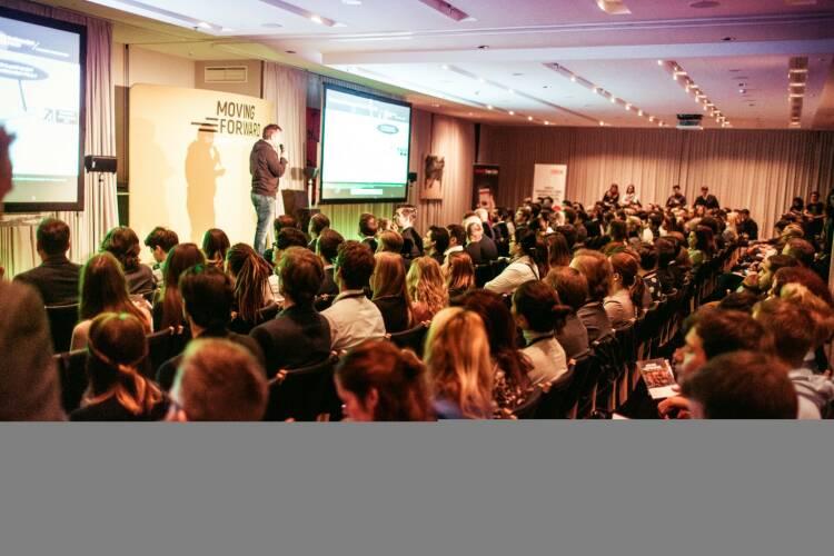 Die Moving Forward Conference zog viele Interessierte an, © Adrian Almasan/Good Life Crew