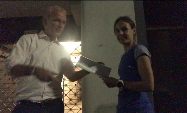 Signing LG Wien mit Carola