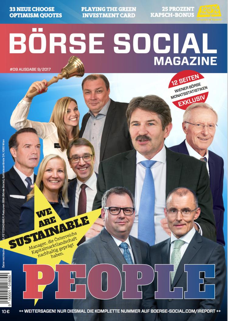 Das neue Magazine ...