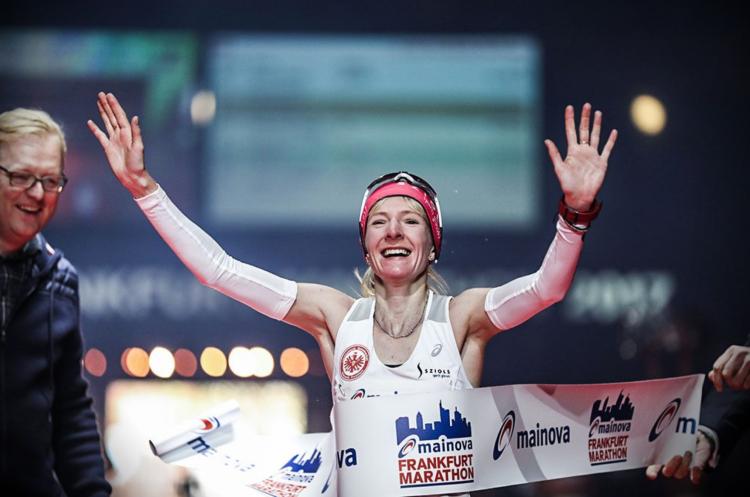 Deutsche Meisterin Katharina Heinig, ein Pacemaker war Christoph Sander