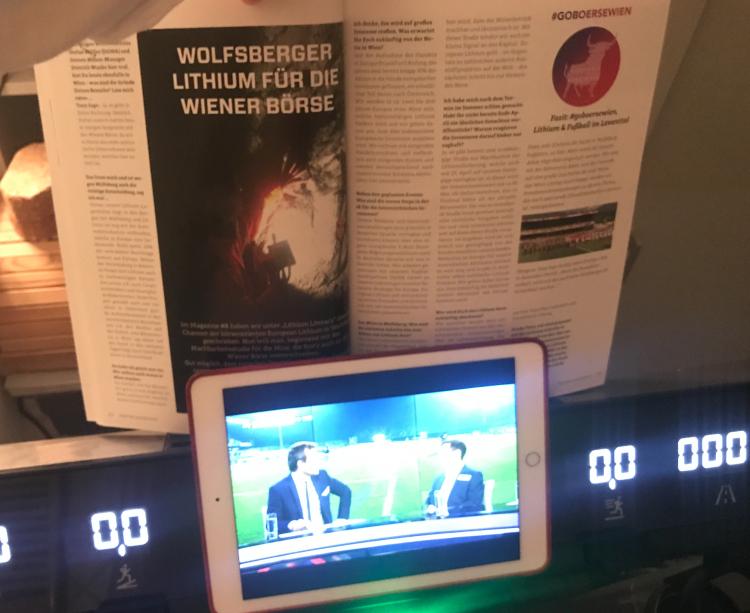 Wolfsberg mit European Lithium im Börse Social Magazine und via Sky im TV