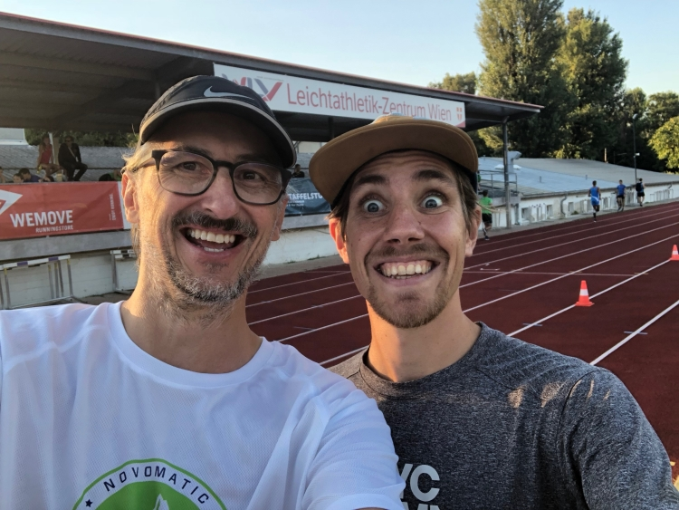 Josef Chladek, Christoph Sander - Danke für die coole Veranstaltung!