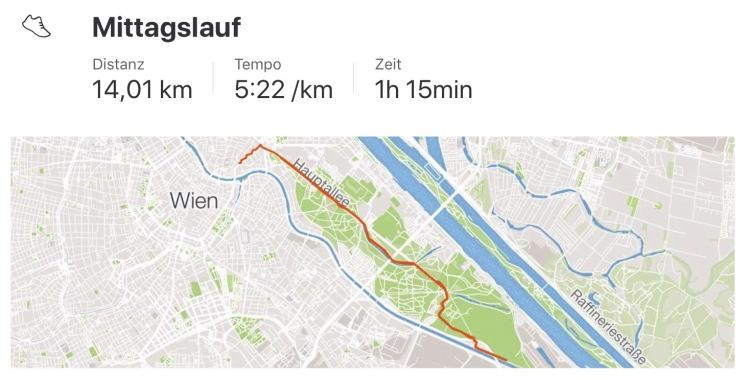 14km, 5:22