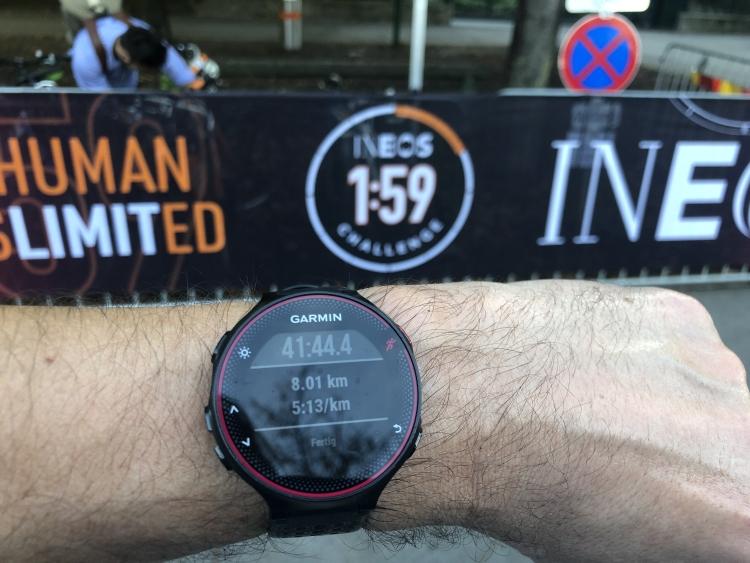 8km, 1:59 Ineos