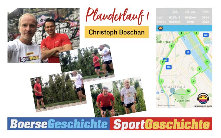 Plauderlauf mit Christoph Boschan
