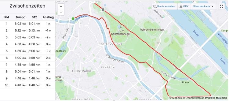10km sub 50 Josef Chladek