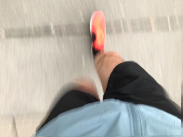 Laufen, Nike Air Zoom Elite 8, Bewegung