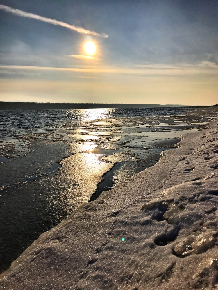 Donau, Eis, Eisscholle, Scholle