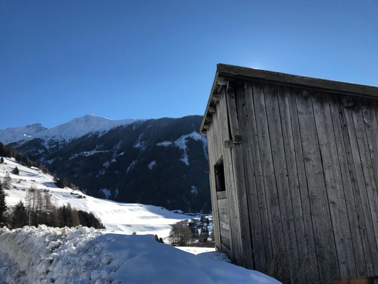 Kals, Osttirol, Hütte, Schnee