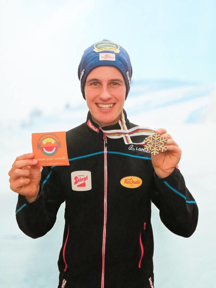 Paul Gerstgraser holte Bronze im Vierer-Team. Im Zweier-Team fehlte sein Anritt