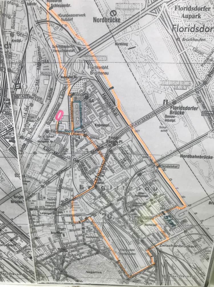 Map Brigittenauer Lauf - 10k